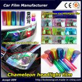 Мода Chameleon фары пленки, автомобильные лампы окраски пленки