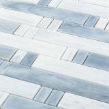De lineaire Fabrikanten van de Tegel van het Mozaïek van het Gebrandschilderd glas van de Muur van de Badkamers