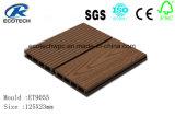 Decking exterior verde e Eco-Friendly de WPC com grão de madeira Fsc, ISO, certificação do Ce