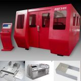 Constructeurs de machine de découpage de laser de fibre d'acier inoxydable d'acier du carbone de GS