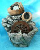 Rock Fontaine à eau avec le pot (TM566)