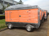 Diesel de 300 cfm China Portable compresor de aire