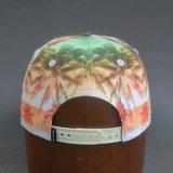 5パネルによって浮彫りにされるロゴPUの縁の急な回復の帽子