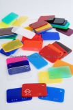 Tarjeta coloreada del acrílico del molde