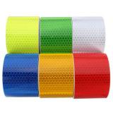 Sicurezza adesiva del favo della marcatura del PVC di alta qualità che avverte nastro riflettente
