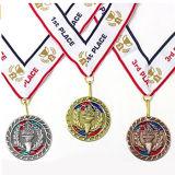A00118カスタム金属のマラソンの連続したスポーツメダル