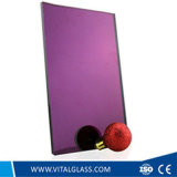 De duidelijke en Gekleurde Zilveren Spiegel van /Aluminum van de Spiegel/de Vrije Spiegel van het Koper