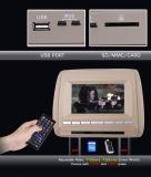 7 ' 숨겨지은 USB 포트를 가진 인치 머리 받침 DVD, 701d