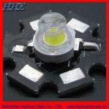 1W Blanco Natural o 3W de potencia de ángulo de visualización LED 175 grados (HH-3PM2BW16-T)