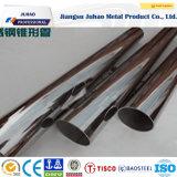 ASTM 201, 304, 316, 430, 439 tubos del acero inoxidable
