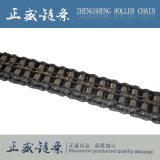 Стандартная цепь ролика передачи транспортера тангажа двойника нержавеющей стали
