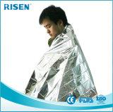 防水ホイルの銀のマイラーの熱レスキュー緊急時毛布