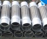 Renforcer le type boyau tressé par fil de bride de métal flexible d'acier inoxydable