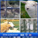 Fuerte alta calidad de alambre de malla de ganado barato Valla