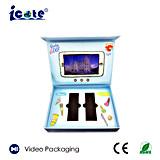 Het aangepaste LCD van het Scherm van 6 Duim VideoVakje van de Presentatie voor Reclame/Giften