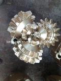 Stahlzahn-dreikegelige Spitzen-Rollenmeißel für Öl