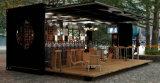 低価格のフラットパックの喫茶店のためのモジュラー容器の家