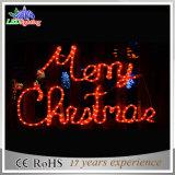Indicatori luminosi della lettera di Buon Natale di motivo della nuova decorazione di natale 2D