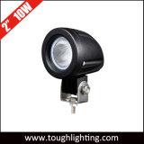 Offroad 2 pulgadas 10W Punto CREE LED de inundación de las luces del tractor camión