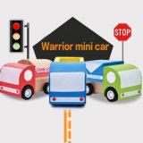 創造的な小型木車は子供の幼児のための車マルチパターン子供の教育おもちゃを引っ張る