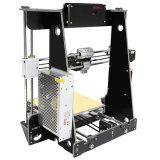 Impresora de Anet A8 3D con los kits de la impresión DIY de la alta precisión