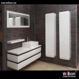 Modernes Floor - eingehangenes Granite Bathroom Vanity