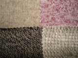Knit-Strickjacke-schweres Gewebe