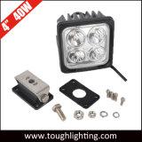 12V IP67 4 인치 사각 크리 사람 광업 건축기계를 위한 LED 일 빛