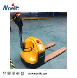 Kapazität kleiner Walkie Typ elektrischer Ladeplatten-LKW des Gleichstrom-Motor1500kg