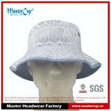 Sombrero reversible y casquillo del cubo del algodón para el hombre