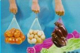 Bolso neto vegetal plástico