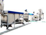 機械装置およびプラスチック不用なリサイクルをリサイクルする熱い洗浄されたびん