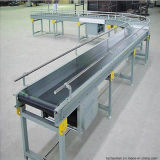 Système mobile de rouleau de convoyeur de convoyeur à bande d'acier inoxydable pour le papier
