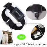 가장 새로운 IP67는 다기능 D61를 가진 애완 동물 GPS 추적자를 방수 처리한다