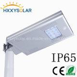 A instalação fácil 12W todo em uma lâmpada solar do jardim