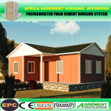 Südafrika SABS bescheinigte das Fertighaus, das schnell angepasst wurde, zusammenbauen vorfabriziertes Haus