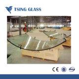 4mm/5mm/6mm/8mm/10mm/12mm/15mm/19mm de vidro temperado para a Segurança e curvado Toble Topo