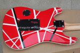 FloydローズのHanhai音楽/Kramer様式の赤いエレキギター