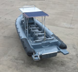 الصين [أقولند] [30فيت] [9م] صلبة قابل للنفخ الغوص زورق/ضلع غطا زورق/مسافر [موتور بوأت] ([ريب900])