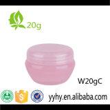 Tarro plástico caliente de la crema del cuidado de piel de la venta 20g