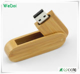 1 년 보장 (WY-W11)를 가진 최신 판매 회전대 나무로 되는 USB 섬광 드라이브
