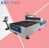 Máquina de estaca de aço do laser da folha de metal do CNC com Ce 500W