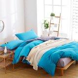 ホーム織物の固体明白な寝具の一定の羽毛布団カバー青