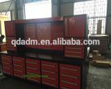 Banco di lavoro stabilito resistente personalizzato della scheda di spina del garage dell'acciaio inossidabile