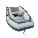 Aqualand 8feet 2.5m de Mini Opblaasbare RubberBoot van de Redding van de Rubberboot van de Motor (aql320)