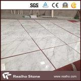 Azulejo de mármore branco oriental chinês barato para piso