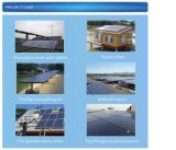 Kleiner HauptSonnenkollektor-Installationssatz-SolarStromnetz