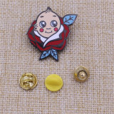 관례 또는 금속 또는 단추 또는 접어젖힌 옷깃 Pin 또는 주석 또는 경찰 또는 군 또는 상징 또는 이름 또는 사기질 또는 차 기장