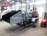 ディーゼル機関の移動式木製の枝砕木機