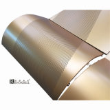 Panneau de revêtement perforé d'aluminium multicolore de haute résistance